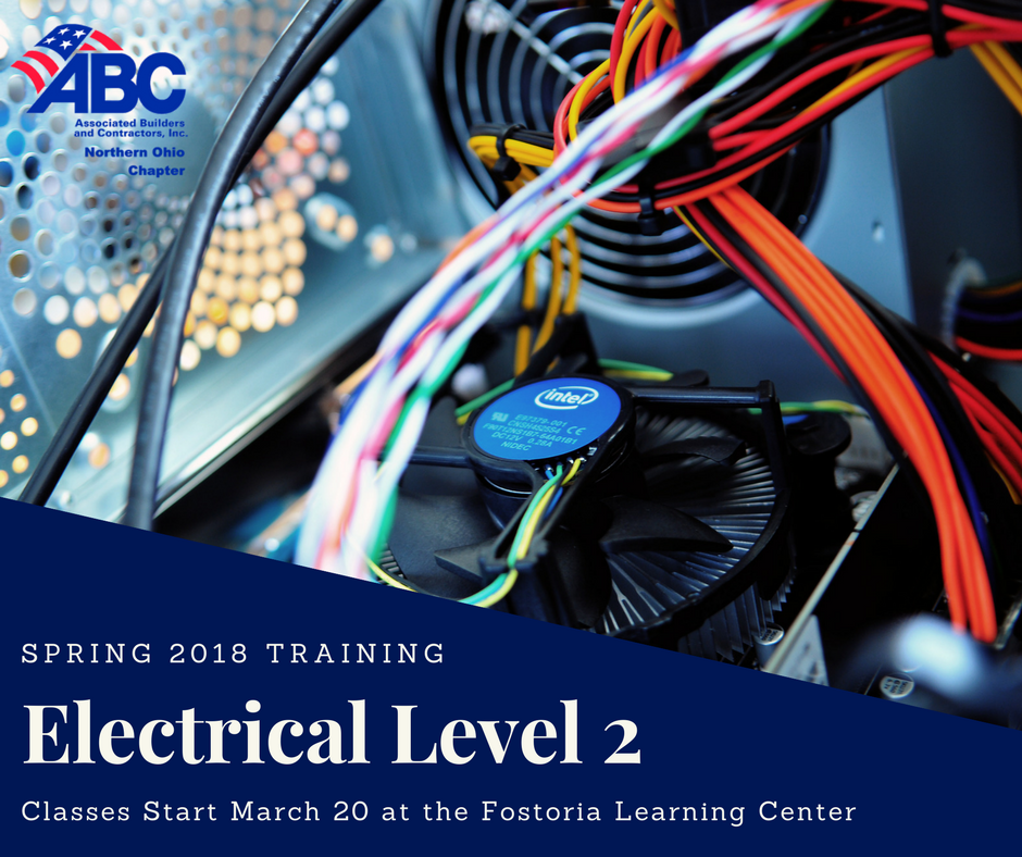 electrical level 2 training enrolling now fostoria learning center rh fostorialearningcenter org electrical wiring classes in atlanta ga electrical wiring courses online costs