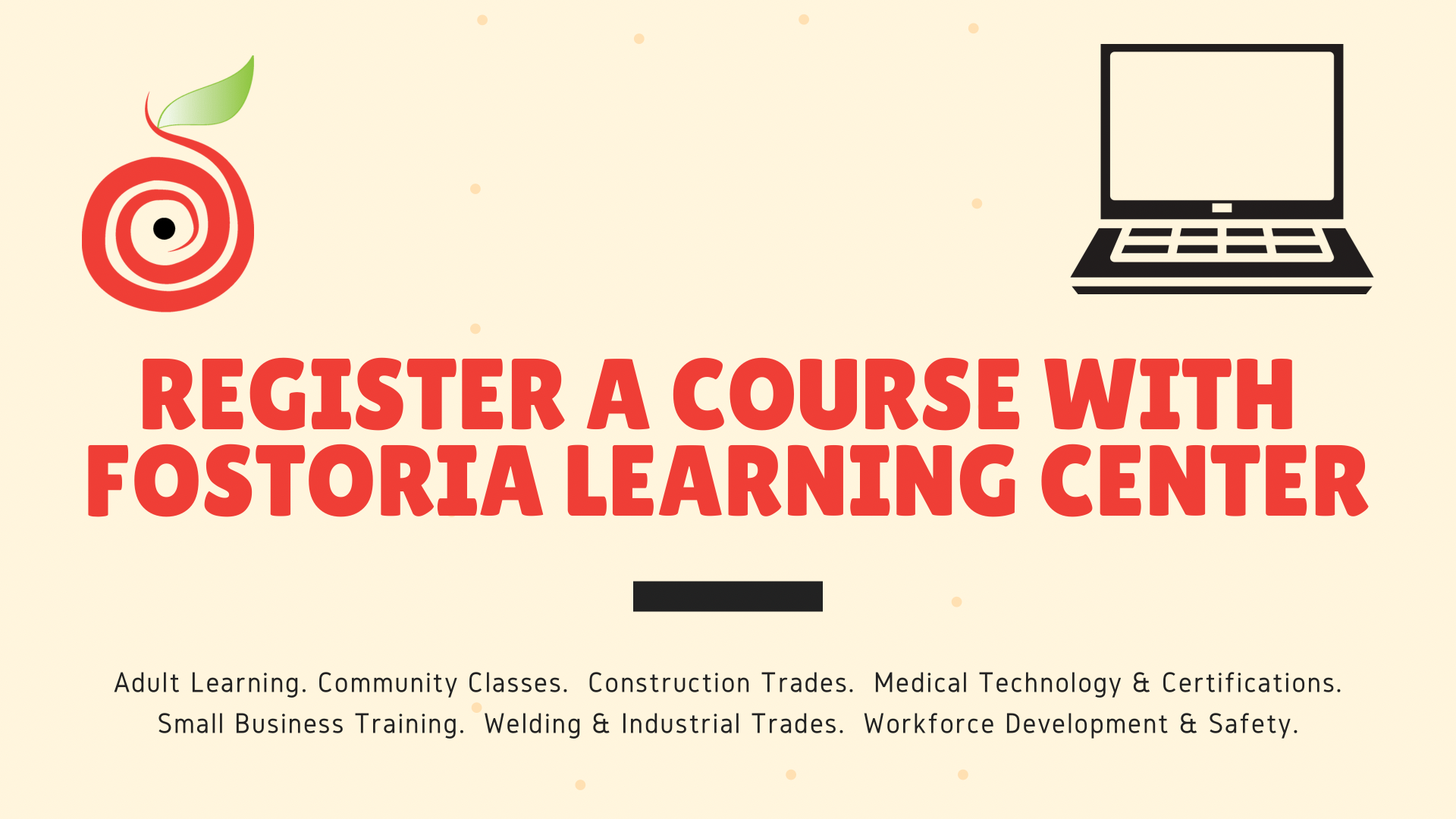 Register a Course with FLC